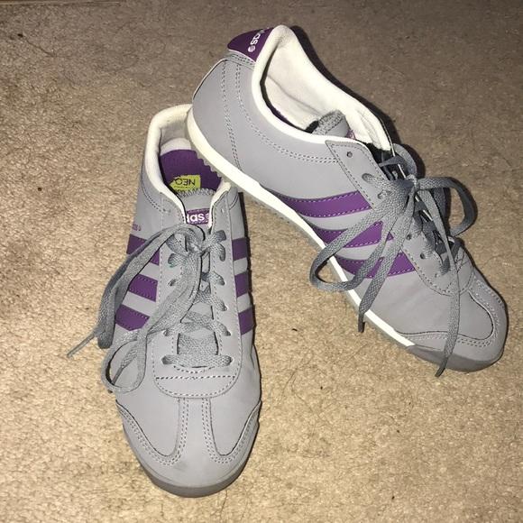 Le adidas grey viola neo - etichetta addis sz 75 poshmark